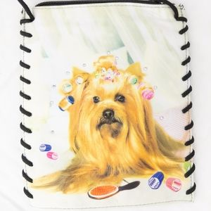 Yorkshire Terrier Crossbody Purse New without tags